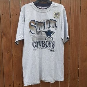Vintage 1992-93 Dallas Cowboys Super Bowl Shirt